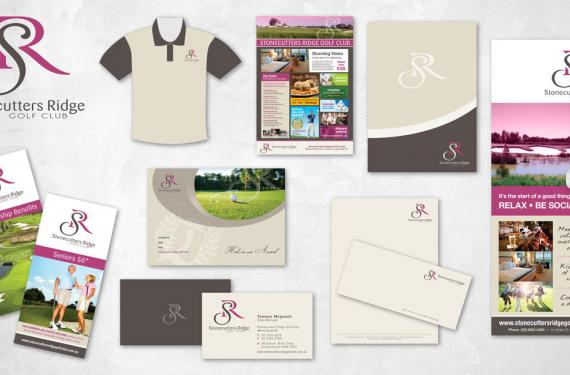 Stonecutters Ridge Golf Club Branding