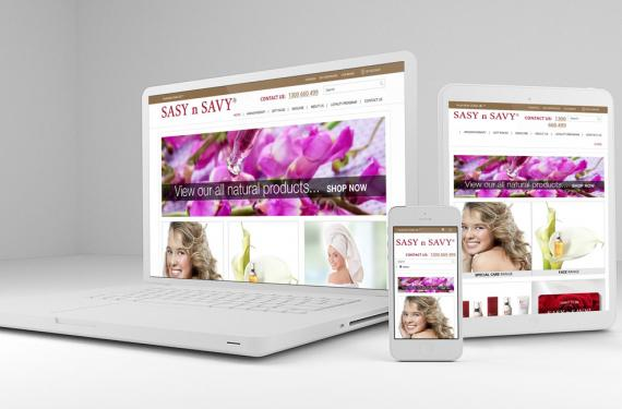Sasy N Savy Website